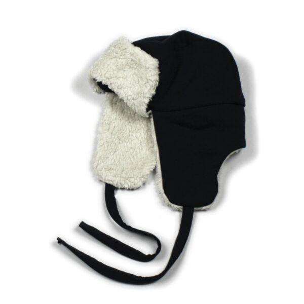 10004837 Lumberjack Mütze Hat warm Winter dunkelblau Mädchen Buben