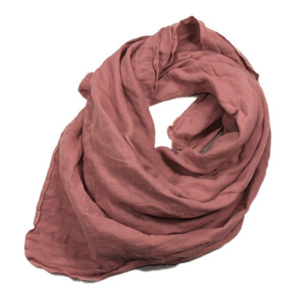 100061170 Musselin Tuch Halstuch Schal Windel Swaddle blush bio organic Baby Mädchen Buben vintage rose rosa