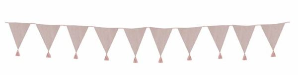 K031 Textile Bunting Pink small