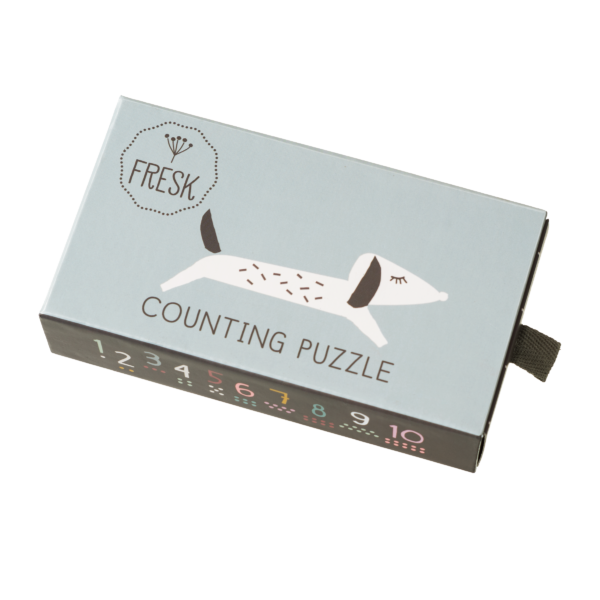 Fresk F8640 Counting Puzzle Zahlenpuzzle A