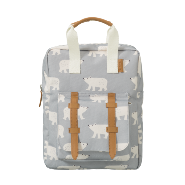 Fresk Fb800 17 Backpack Small Polar Bear Rucksack Grau Eisbär