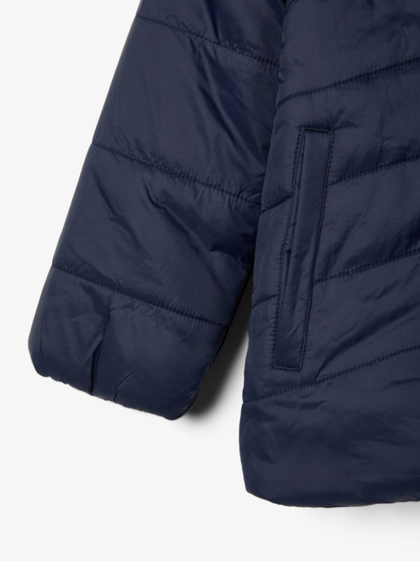 Name It Jacke Blau Detailansicht