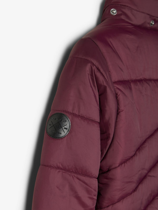 Name It Herbstjacke Bordoux Detail