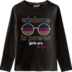 Name It T Shirt Schwarz Grils Are Future