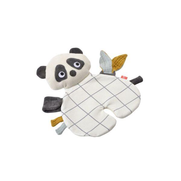 Kikadu Panda Schnullertuch