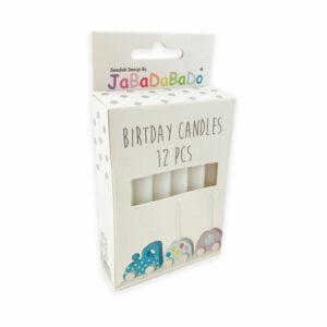 Jabadabado Kerzen Geburtstagszug Weiß R15053 7332599150532