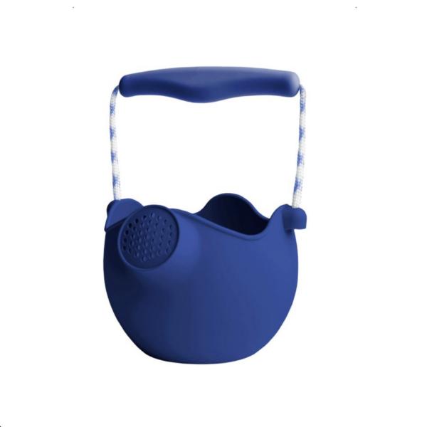 Scrunch Watering Can Silikon Gießkanne Midnight Blue