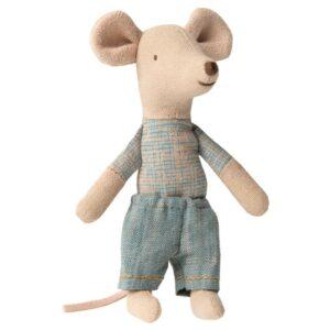Maileg 16 0723 01 Little Brother Mouse In Matchbox Kleiner Bruder Maus In Zündholzschachtel 1