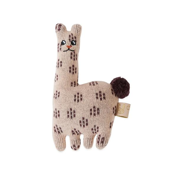 Baby Rattle Lama Soft Toys 1100843 402 Rose 600x 1100843
