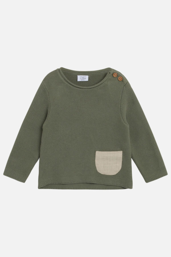 46365 Hust Baby Pilou Pullover