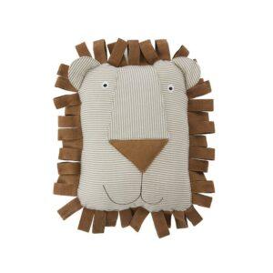 M107106 Lobo Lion Denim Cushion