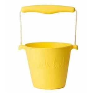 Scrunch Eimer Silikon Pastel Gelb Proudbaby 2