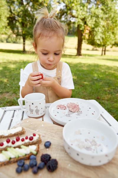 Lässig Kindergeschirr Set Porzellan Tiny Farmers Gans Schaf Teller Schüssel Tasse 1210037841 Proudbaby 2