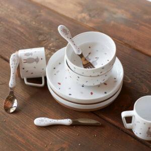 Lässig Kindergeschirr Set Porzellan Tiny Farmers Gans Schaf Teller Schüssel Tasse 1210037841 Proudbaby 3