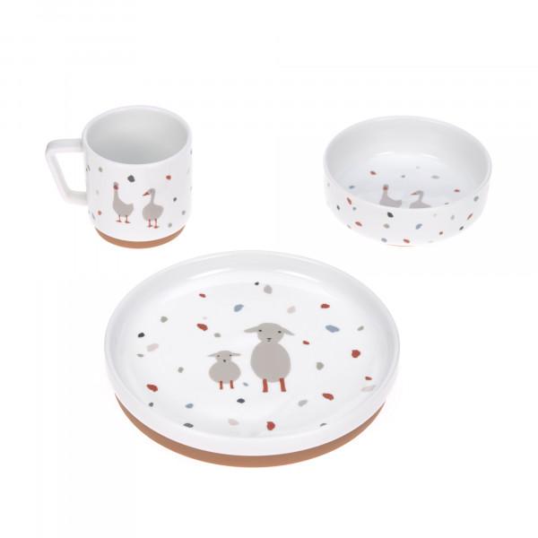 Lässig Kindergeschirr Set Porzellan Tiny Farmers Gans Schaf Teller Schüssel Tasse 1210037841 Proudbaby