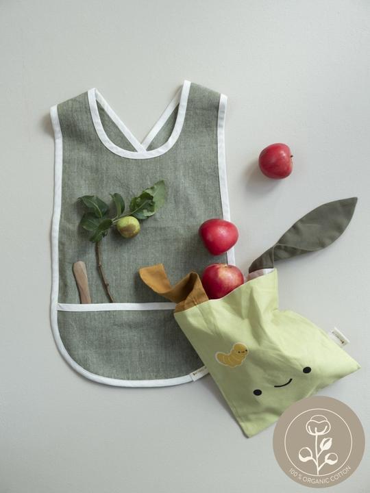 Fabelab Snack Bag Green Apple Grün Apfel Tasche 5713034207349 2006238151 Proudbaby1