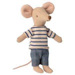 Maileg Big Brother Mouse In Matchbox Großer Bruder Maus In Streichholzschachtel 16 1733 01 Proudbaby 2