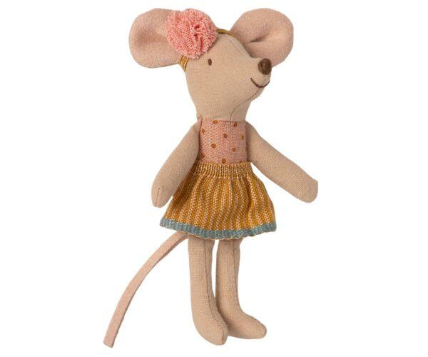 Maileg Big Little Sister Mouse In Matchbox Kleine Schwester Maus In Streichholzschachtel 16 1726 01 Proudbaby 2