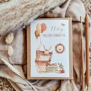 Schatzls Schatzkisterl Meilensteinkarten Baby Proudbaby 1