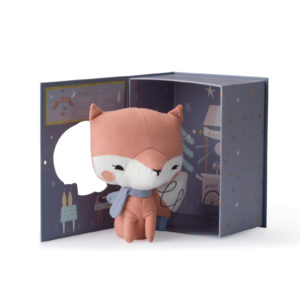 25215004 8719066207743 Picca Lou Lou Fox Pink In Gift Box 18 Cm Stofftier Fuchs Proudbaby 3