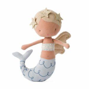 25215024 8719066009095 Picca Lou Lou Mermaid Pearl 22 Cm Puppe Stoffpuppe Meerjungfrau Proudbaby