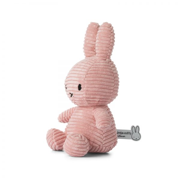 8719066003819 3 24182208 Miffy Sitting Corduroy Pink 23 Cm Stofftier Hase Proudbaby