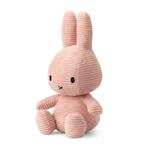 8719066003826 2 24182209 Miffy Sitting Corduroy Pink 33 Cm Stofftier Hase Proudbaby