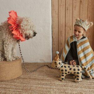 Darling Cushion Baby Elvis Leopard Soft Toys 1100864 908 Multi 2 900x