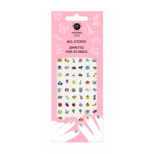 Happy Nails Stickers For Kids
