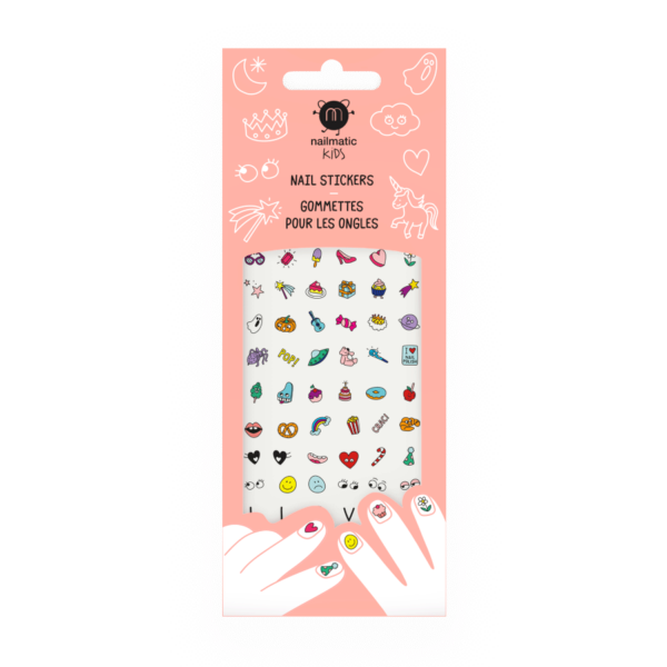 Magic Nails Stickers For Kids