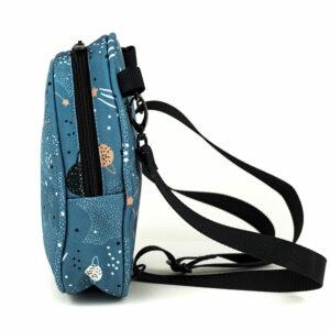 Shellbag Mini Rucksack Cross Body Bag Cosmos2