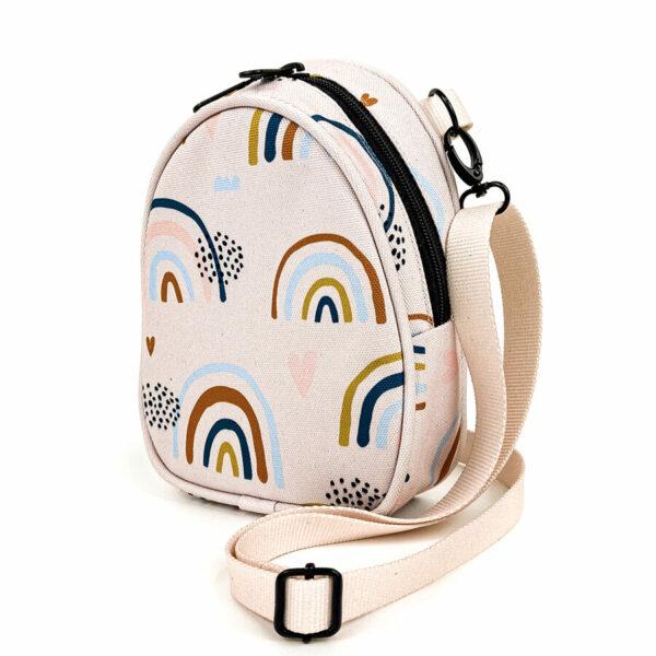 Shellbag Mini Rucksack Cross Body Bag Rainbow