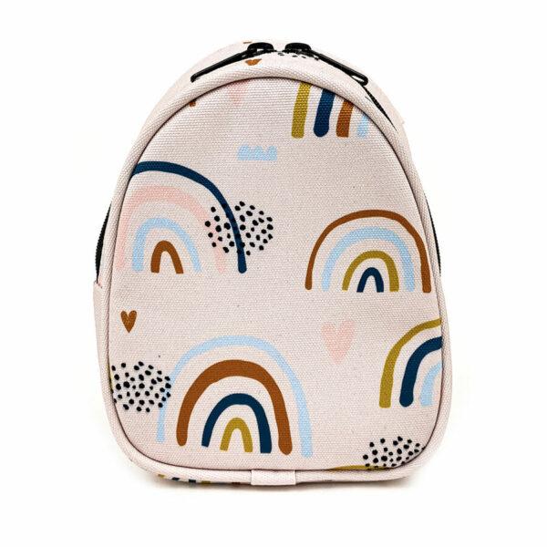 Shellbag Mini Rucksack Cross Body Bag Rainbow2