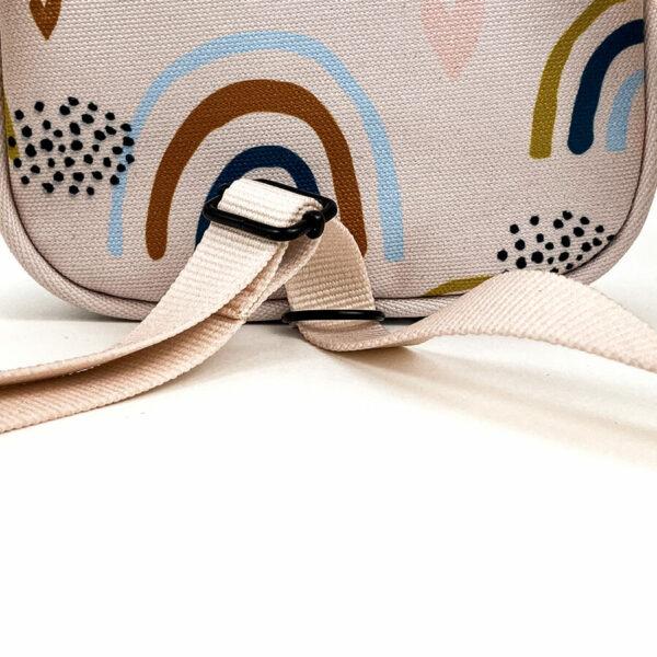 Shellbag Mini Rucksack Cross Body Bag Rainbow4