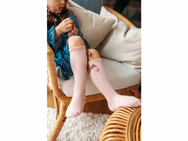 33985 5 Mama S Feet Detske Podkolenky Knee Highs Ladies Stephanie Bile Relax