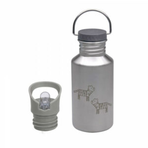 1210026261 Kinder Trinkflasche Bottle Safari Tiger Lässig 4042183428598 1