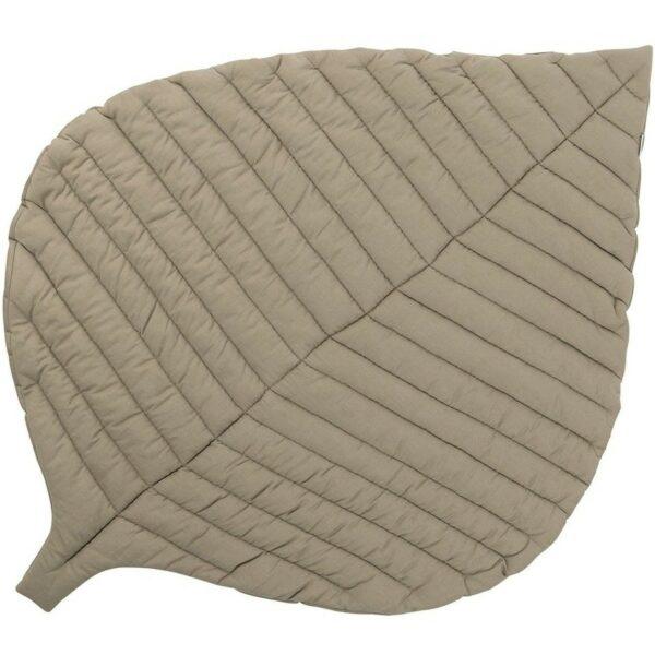 Toddlekind Playmat Spielmatte Leaf Blatt Tan