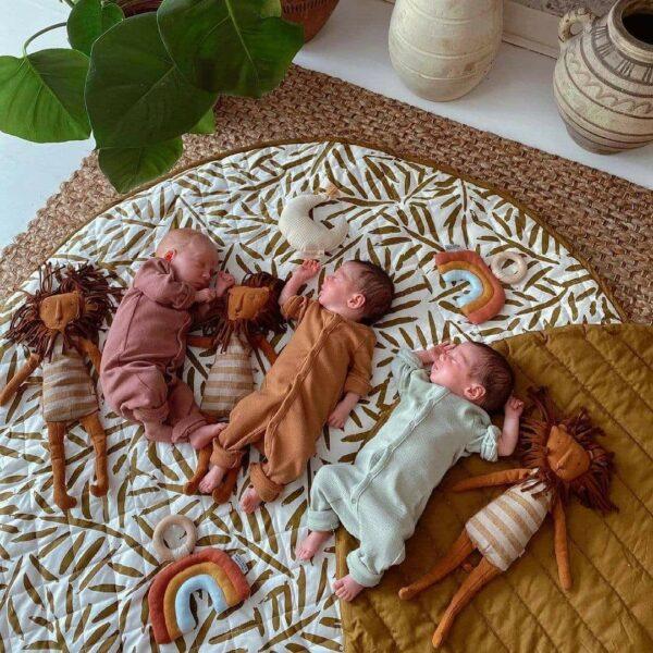 Toddlekind Playmat Spielmatte Windelfrei Nappy Free Organic Gots Sandcastle 4