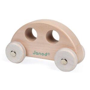 Janod Cocoon Holz Greifling Auto Natur 3700217344139 J04413