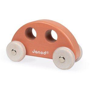 Janod Cocoon Holz Greifling Auto Taupe 3700217344139 J04413