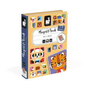 Magneti Book Mix Match Tiere 72 Magnete