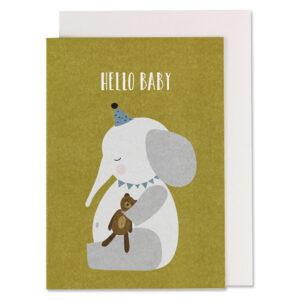 2173f Elefant Mit Teddy Hello Baby 600x600 1